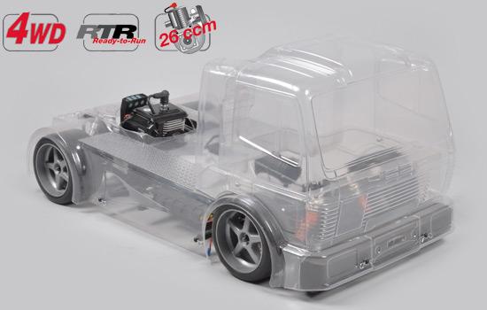 Sportsline 4WD-530 FG Street Truck,4WD,RTRماشین کنترلی آرسی