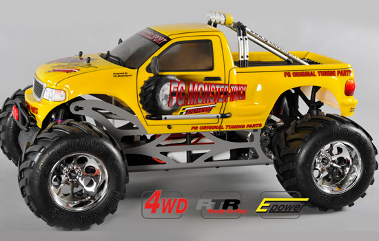 RC Monster Truck WB535E, 4WD, RTRماشین کنترلی آرسی