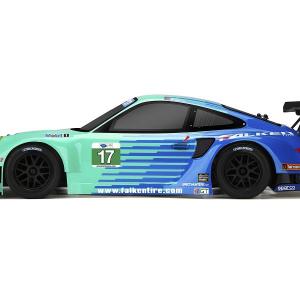 108370 2012 porsche 911 GT3 RSR bodyماشین کنترلی آرسی