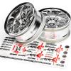 79)500000-6-3281 (HPI) wheel 26mm chrome