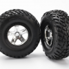5873x tires&black/chrome wheels