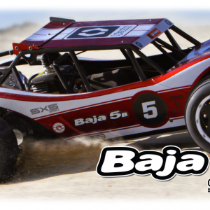 RTR Baja 5B Sidewinder X5 with 2.4GHz radio