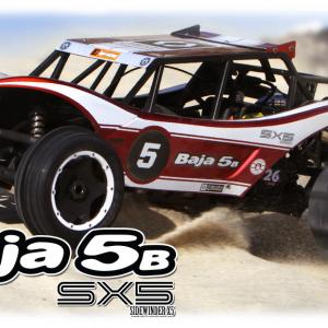 RTR Baja 5B Sidewinder X5 with 2.4GHz radio