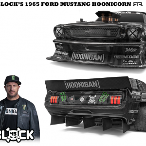 RS4 SPORT 3 RTR 1965 FORD MUSTANG HOONICORN RTR